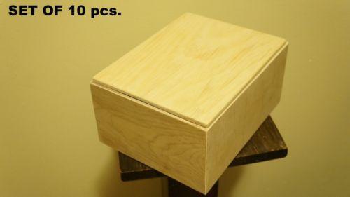 Unfinished Wooden Box Ebay