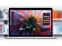 "MacBook Pro 15"" Retina 512GB 16GB RAM AMD Radeon R9 M370X SSD Apple Care"