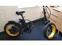 "New Fat EBike Folding Electric Bike 20"" New Fat Tyres Mountain"