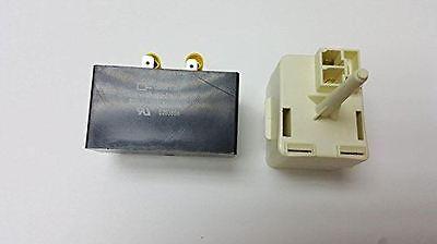 Kenmore Frigidaire Refrigerator Compressor Relay Start and Overload and capacito