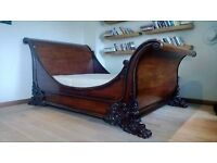 And So To Bed London Brodsworth Sleigh Bed King Size