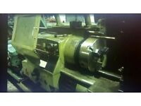 WARD 7D PRELECTOR LARGE BORE TURRET LATHE