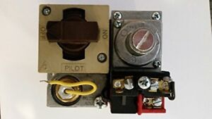 Natural gas valve/pilot used on many Pool and spa heaters