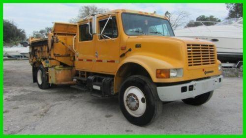 Single Axle Dump Truck Ebay