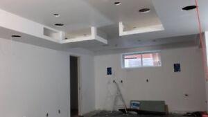 Drywall / Taping / Sanding/Spray Foam Insulation