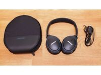 Bose SoundLink Bluetooth wireless Headphones-Black (Immaculate Condition)