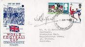 1966 World Cup Signed FDC