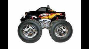 Monster wheels 4x4 radio control truck eztec new Springwood Blue Mountains Preview
