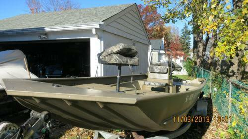 Used aluminum fishing boats ebay for Ebay fishing boats