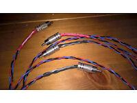 kimber PBJ analogue interconnect (1 metre long)