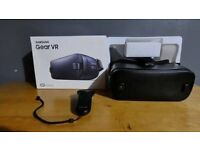 Samsung Gear VR Gen 2 3D Glasses Remote Headset - Black