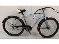 26 Inch Huffy Cranbrook Cruiser Men Bike, Light Blue RRP 269.99 Lot 190