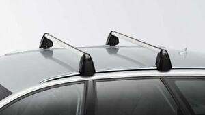 OEM Audi A6 Avant roof rack bars with key