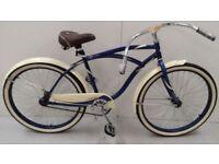 26 Inch Huffy Cranbrook Cruiser Men Bike Dark Blue RRP 269.99 Lot 182