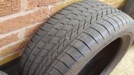 2 x Goodyear Tyres 245/45 R18