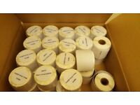 35 ROLLS DYMO / SEIKO COMPATIBLE 99014 LABELS - 54 x 101mm (220PCS)-HIGH QUALITY