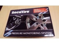Tire Pressure Monitoring for car SecuTire LED 4 Wheels TPMS system