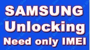 SAMSUNG UK THREE Hutchison GALAXY ACE ALPHA NOTE 4 S4 S3 S2 LTE UNLOCK CODE