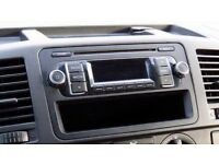 Original Radio/CD player VW T5 transporter, 2014.