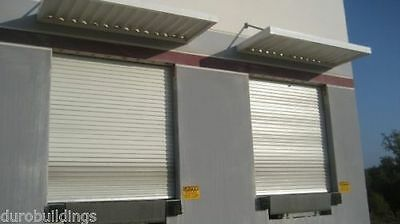 Durosteel Janus 10 Wide By 12 Tall 2000 Series Commercial Roll-up Door Direct