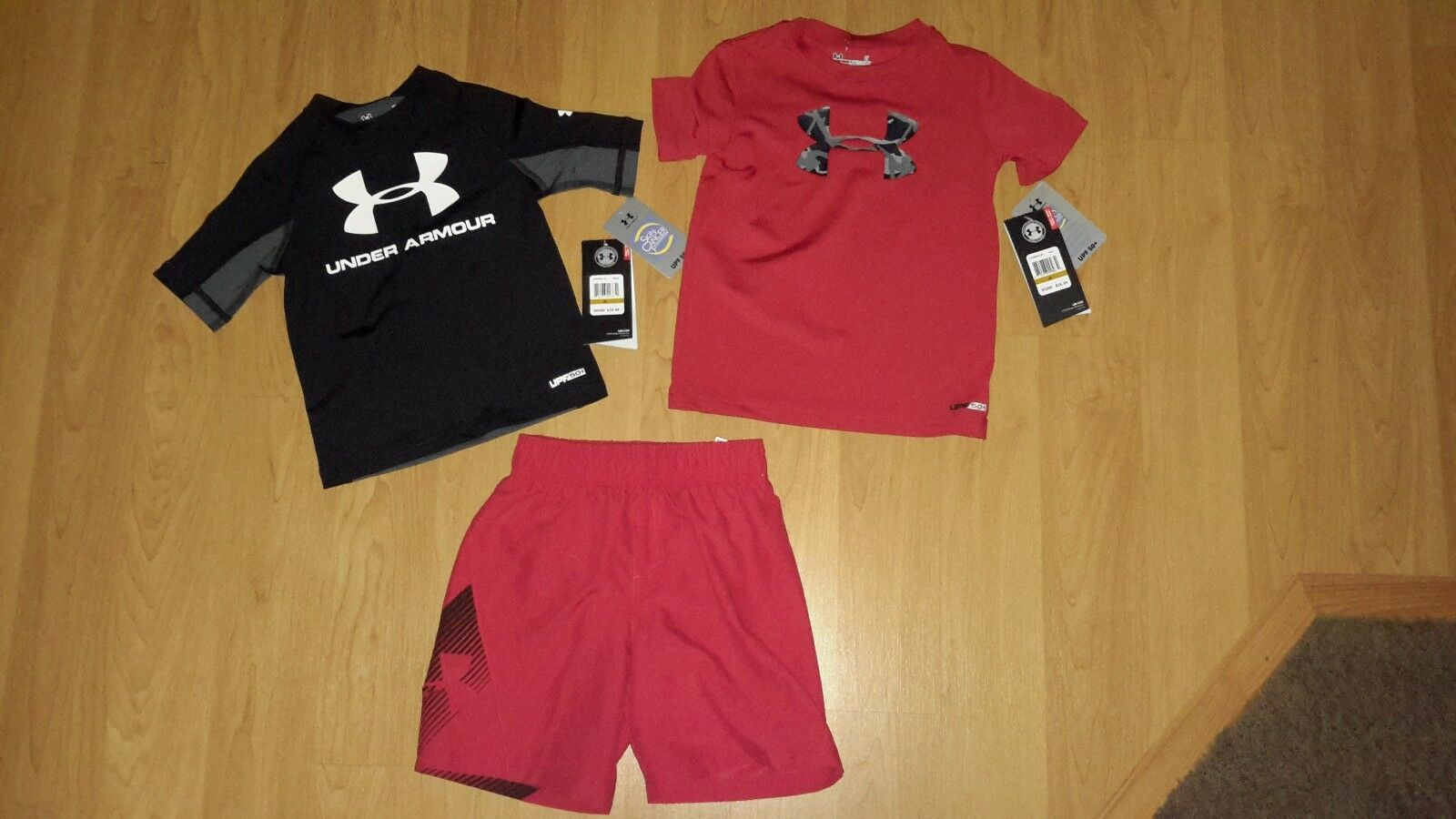 Under Armour Toddler Boys' Boardshorts OR Rashguard, MSRP $2