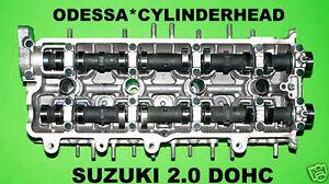SUZUKI 2.0 Aerio Vitara GM TRACKER DOHC CYLINDER HEAD d-tec 99-03 REBUILT