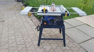 Mastercraft Table saw With Laser guide and Stand