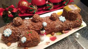 Bûches & gourmandises pour Noël :