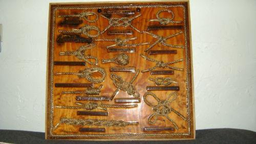 Knot Board Collectibles Ebay
