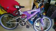 Girls Purple Mountain Bike