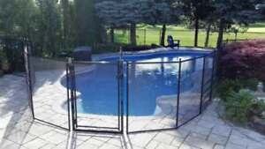 $10.00/ft Safety pool fence, made in USA