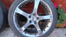 jaguar x type alloy wheels