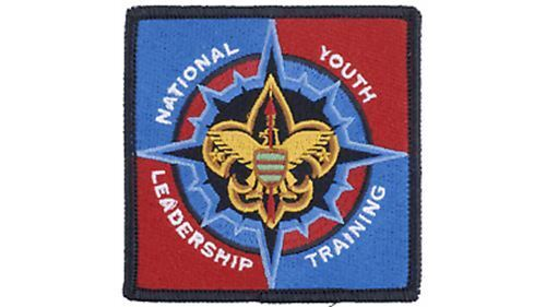 BOY SCOUT NATIONAL YOUTH LEADERSHIP TRAINING PATCH EMBLEM BSA OFFICIAL LICENSED