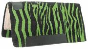 Zebra Western Saddle Pad