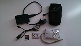 Sony DSC-W510 12.1 megapixel - Used - Good Condition with case & 4GB memory card