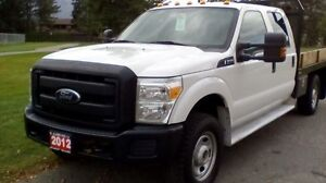 2012 FORD F-350 SD XL CREW CAB LONG BED