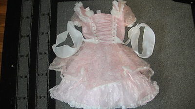 Little Bo Peep Costume For Girls (GIRLS COSTUME DRESS LITTLE BO PEEP 4/5)