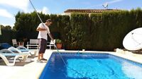 Pool maintenance! Let us maintain your pool/free quote