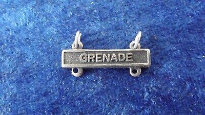 ^(A28) US Schiessabzeichen Grenade matt