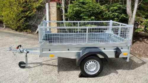 NEW Car trailer CAGE / MESH 6,8ft x 3,8ft 750kg GVW