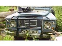 Land Rover 88 Diesel 1982