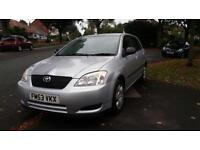Toyota Corolla 1.4 VVT-i T2 Toyota Serving Px welcome