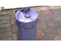 Sera Aquarium External Filter with 5 watt UV Light.