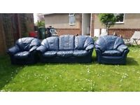 WANTED leather suite or 2 sofas