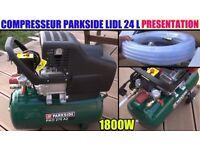 PARKSIDE Air Compressor 24l PKO 270 A2
