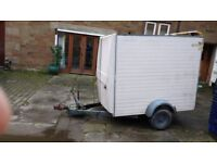 6 x 4 box trailer lynton loader 120 l roller door tow a van