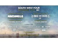 SW4 - SOUTH WEST FOUR SATURDAY FESTIVAL TICKET £66 (SEVEN FOR SALE AT £66 EACH) CONTACT ME