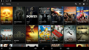 PREMIUM ANDROID BOXES  IPTV 2300 CHANNELS