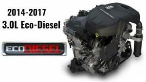 Dodge Ram EcoDiesel engines - brand new