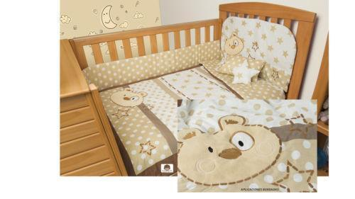 Teddy Bear Crib Set Ebay